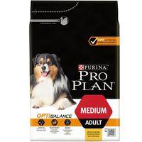 Purina Pro Plan Adult Medium OptiHealth Kurczak 3kg - 3kg (7613035114807)