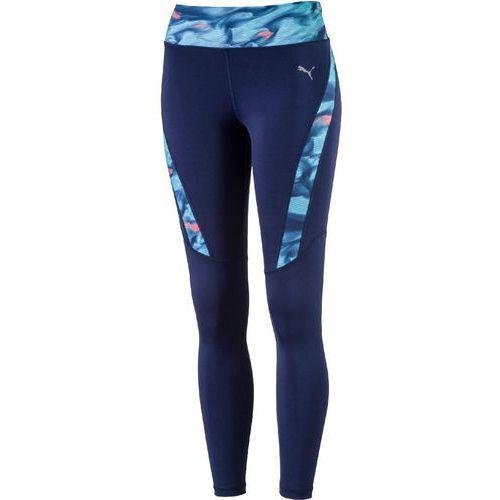 6f277592f3ab3 legginsy sportowe graphic long tight w blue depths nrgy turquise xl marki  Puma