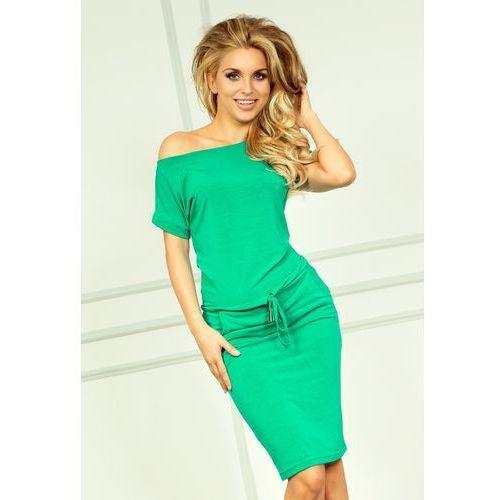 56 2 Sukienka sportowa NEON Zielony, w 4 rozmiarach