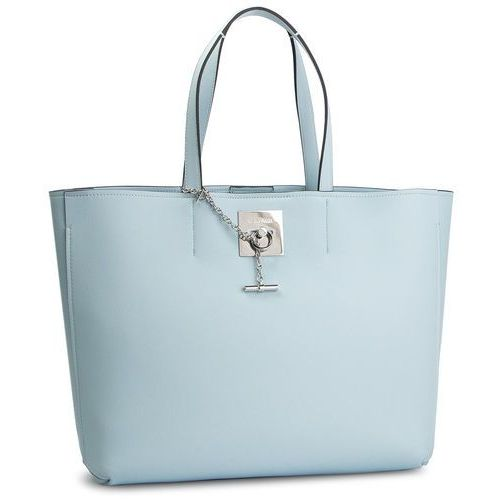 d574296a15a8d Calvin Klein Torebka CALVIN KLEIN - Ck Lock Shopper K60K605122 458, kolor  niebieski