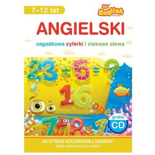 Angielski Zagadkowe cyferki i ciekawe słowa 7-12 lat Książka + CD (96 str.)