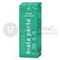 BIAŁA PERŁA Whitening Fresh pasta wybielająca do zębów o właściwościach odświeżających 75ml