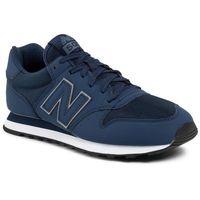 Sneakersy NEW BALANCE - GM500TRZ Granatowy