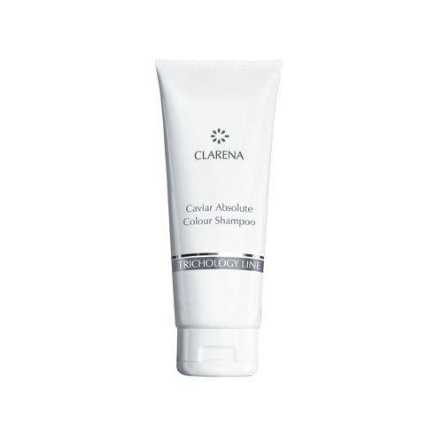 Kawiorowy szampon przeznaczony do mycia włosów farbowanych 200 ml Clarena