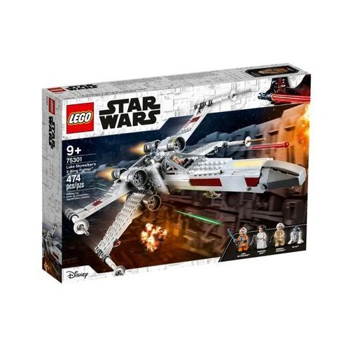 Lego STAR WARS Zestaw myśliwiec x-wing luke'a skywalkera 75301