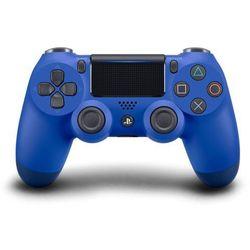 gamepad ps4 dualshock 4 niebieski v2 marki Sony