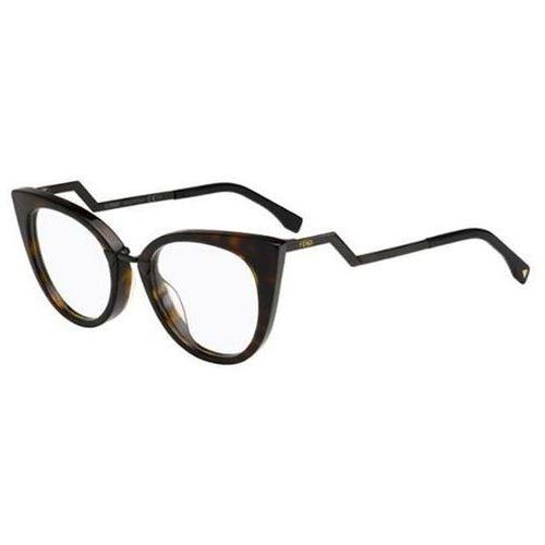 Okulary Korekcyjne Fendi FF 0119 ORCHIDEA RZU