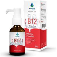 Krople Witamina B12 w kroplach - Metylokobalamina 200 µg - Avitale