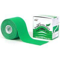 Taśma do tapingu nasara logy tape 5cm x 5m - zielony marki Kinesio