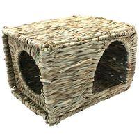 Duży pleciony domek - kryjówka dla gryzoni marki Nature first small animal
