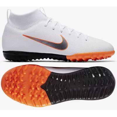 f3e1124f1 Buty piłkarskie Nike Mercurial SuperflyX 6 Academy GS TF Jr AH7344-107  Multibrandshop