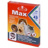 Selecta max obroża przeciw pchłom i kleszczom dla małych psów, 43 cm