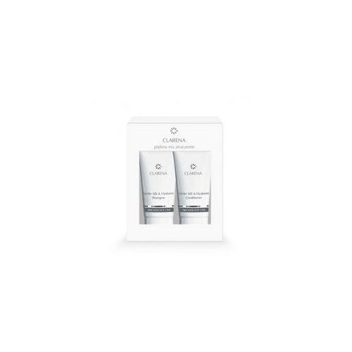Trichology line, spider silk&hyaluron mini set, szampon 30ml + odżywka 30ml Clarena