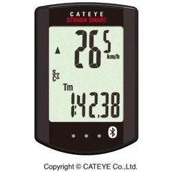Licznik bezprzewodowy strada smart cc-rd500b czarny marki Cateye