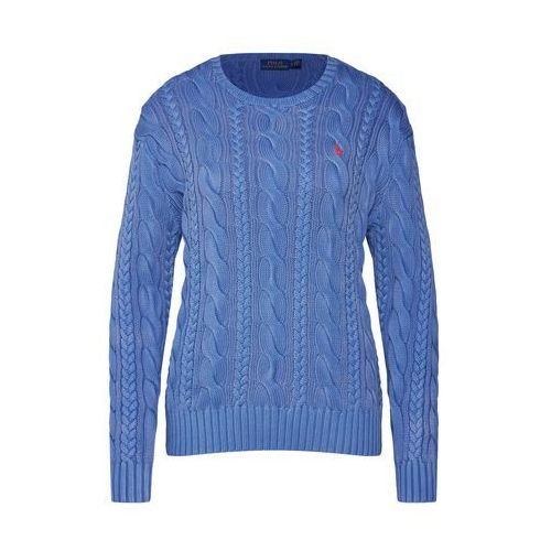 5e973d29f POLO RALPH LAUREN Sweter 'LS ELBW PTCH-LONG SLEEVE-SWEATER' niebieski, w 5  rozmiarach