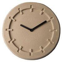 zegar pulp time okrągły beżowy 8500021 marki Zuiver