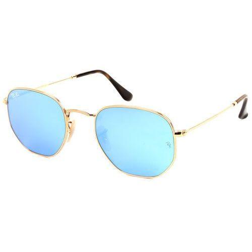 31f7f2bd76c325 Zobacz ofertę Okulary Słoneczne Ray-Ban RB3548N Hexagonal Metal Flat Lenses  001/9O, kolor żółty