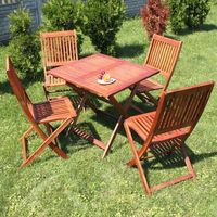Ogrody leandro Meble ogrodowe toskania zestaw mebli stół + krzesła 4szt