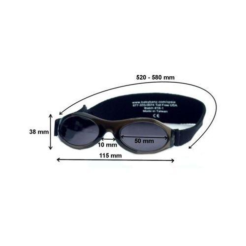 Okulary przeciwsłoneczne dzieci 2-5lat UV400 BANZ - Orange (9330696003698)