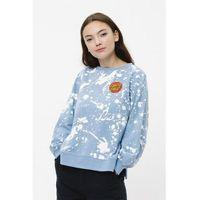 bluza SANTA CRUZ - Kit Crew Blue/White (BLUE-WHITE) rozmiar: 6