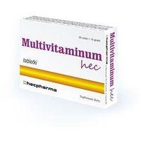 Tabletki MULTIVITAMINUM HEC x 50 tabletek