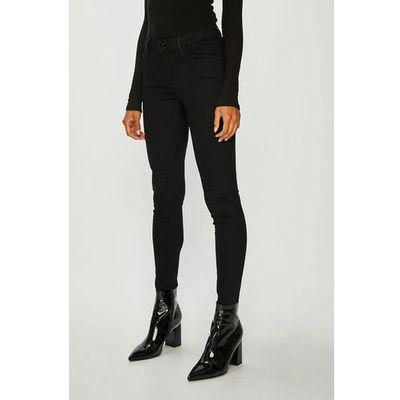 6b38136c380cd4 Spodnie damskie Guess Jeans, Kolor: czarny ceny, opinie, recenzje ...