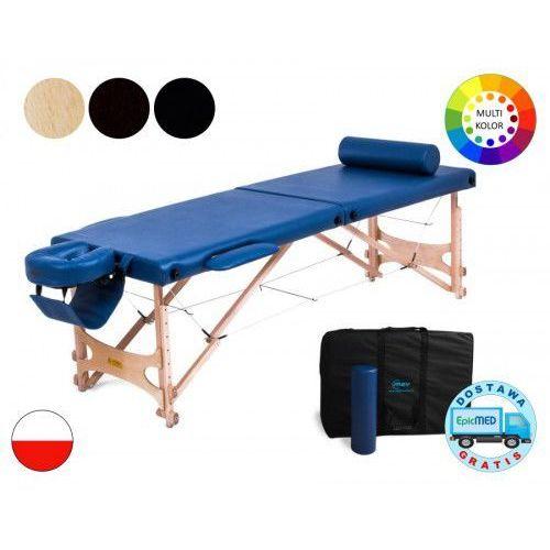 Składany stół do masażu Pro Master drewniany z regulacją wysokości