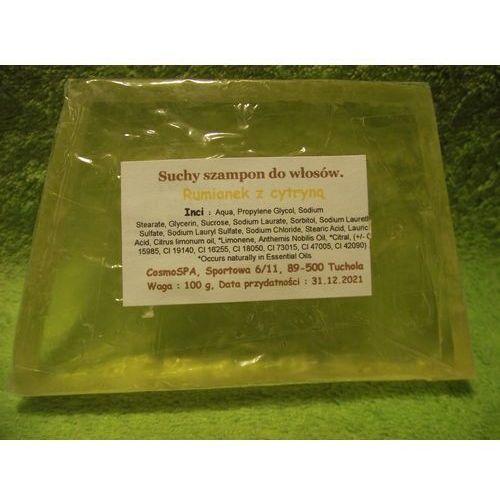 CosmoSPA- TWARDY Szampon do włosów - odżywczy. rumianek i cytryna 100 g