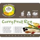 Adventure Food Curry Fruit Rice Żywność kempingowa podwójna porcja Posiłki wegetariańskie  Ryż curry