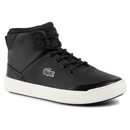 Lacoste Sneakersy - explorateur classic 319 1 cuj 7-38cuj0006454 blk/off wht