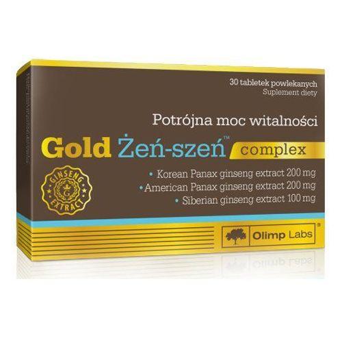 Tabletki Olimp Gold Żeń-szeń complex 30 tabl. Energia Witalność Potencja 43505