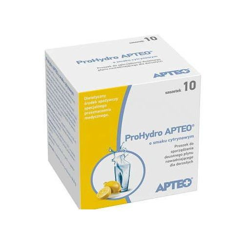 Apteo prohydro o smaku cytrynowym x 10 saszetek Synoptis pharma