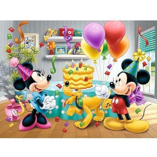 Puzzle Mickey a Minnie slaví narozeniny Disney 27x20cm 30 dílků v krabičce 21x14x4cm (5900511182118)