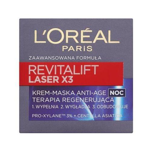 L'oréal paris Loreal paris 50ml revitalift laser x3 krem-maska anti-age terapia regenerująca na noc