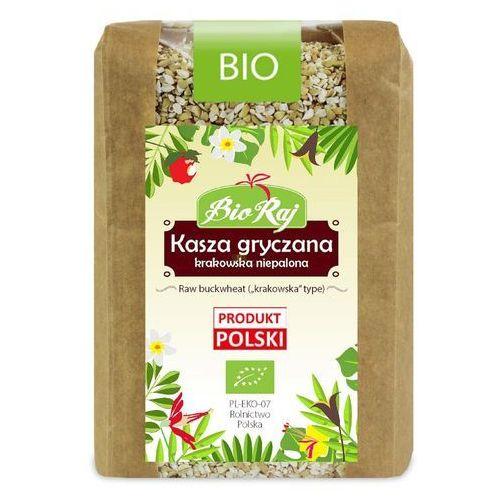 Bio raj (konfekcjonowane) Kasza gryczana niepalona bio 400 g bio raj (5907738152160)