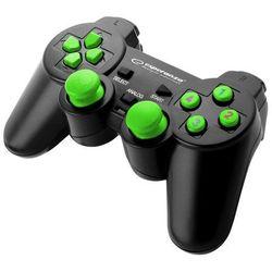 """Gamepad pc usb """"warrior"""" czarno/zielony marki Esperanza"""