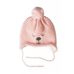 Czapka niemowlęca na zimę 5x3528 marki 5.10.15.