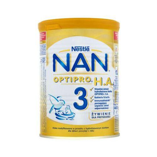 Nestle optipro ha 3 400g mleko modyfikowane z b.lactis dla dzieci powyżej 1 roku Nan