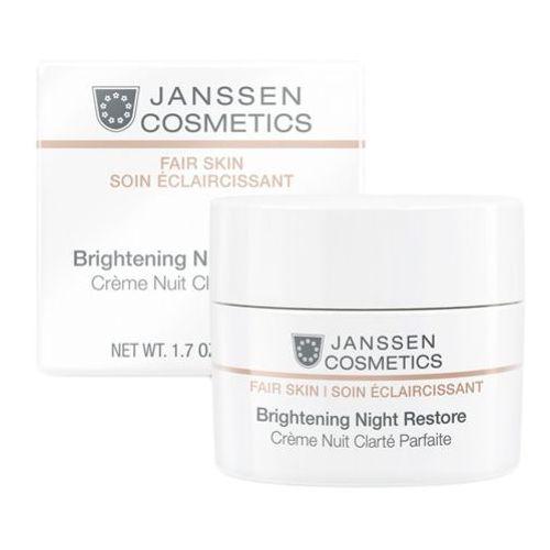Brightening night restore rozjaśniający krem na noc (3320) Janssen cosmetics