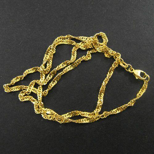 Złoty łańcuszek L848