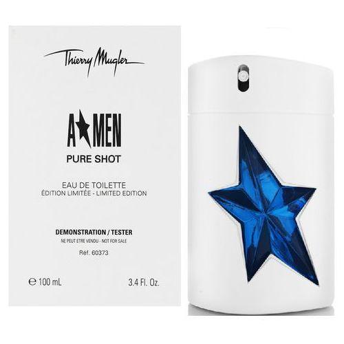Thierry Mugler A*Men Pure Shot, Woda toaletowa – Tester, 100ml