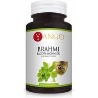 Kapsułki Brahmi Bacopa Monnieri YANGO - ekstrakt 50% bakozydów - 100 kapsułek