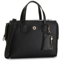 Torebka TOMMY HILFIGER - Charming Tommy Satchel AW0AW07311 BDS