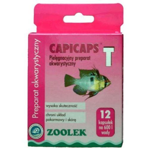 capicaps-t (capifos) preparat akwarystyczny przeciwko pasożytom marki Zoolek