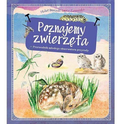Poznajemy zwierzęta. Przewodnik młodego obserwatora przyrody - MICHAŁ BRODACKI (120 str.)