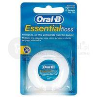 ORAL-B EssentialFloss 50m nić dentystyczna NIEWOSKOWANA E012