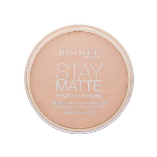 Rimmel London Stay Matte puder 14 g dla kobiet 008 Cashmere - Genialny upust