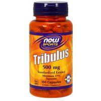 Kapsułki Now Foods Tribulus standaryzowany extract 500mg 100 kaps.