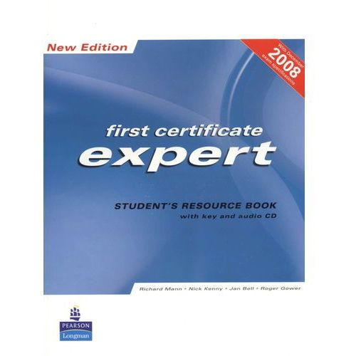 FCE Expert New Edition Student's Resource Book with Key plus Audio CD