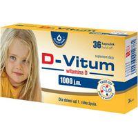 D-Vitum witamina D 1000 j.m. x 36 kapsułek twist-off